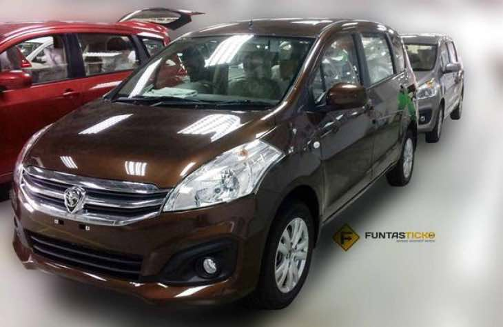 2017 Proton Ertiga MPV imminent launch with colour options ...