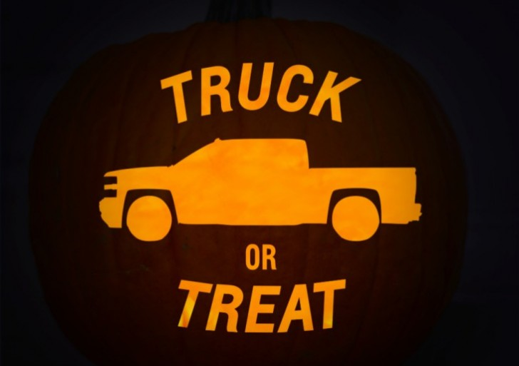 Pumpkin carving ideas – Chevy Jack O' Lantern stencils