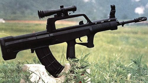The Bullpup looks similar to the QBZ-95 from BF4