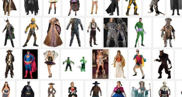 Quality Halloween costumes set record prices