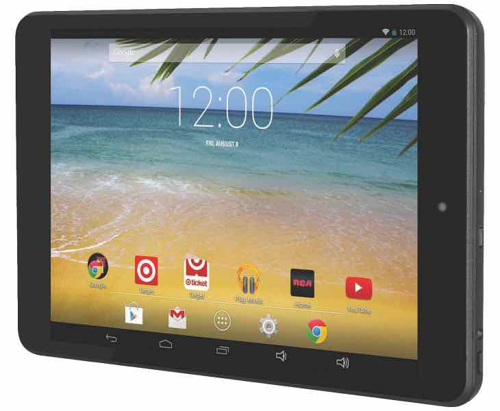 RCA 8-inch RCT6573W23 tablet specs