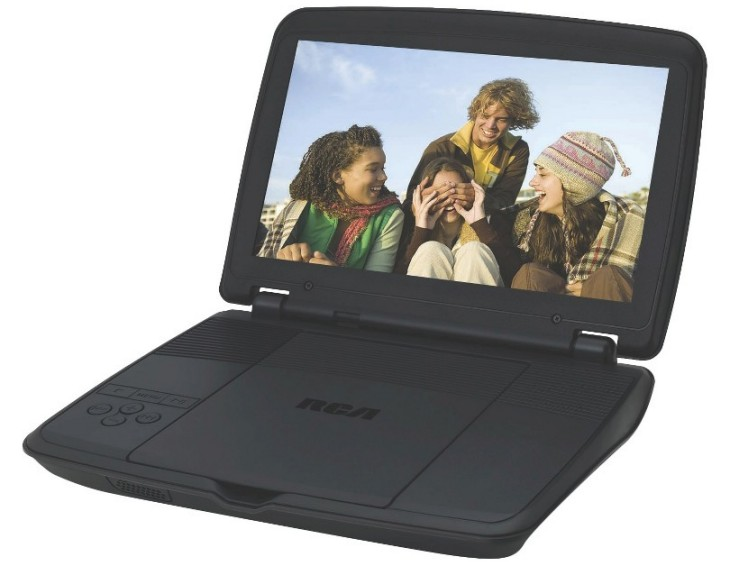 RCA DRC96100 10-inch Portable DVD Player overview