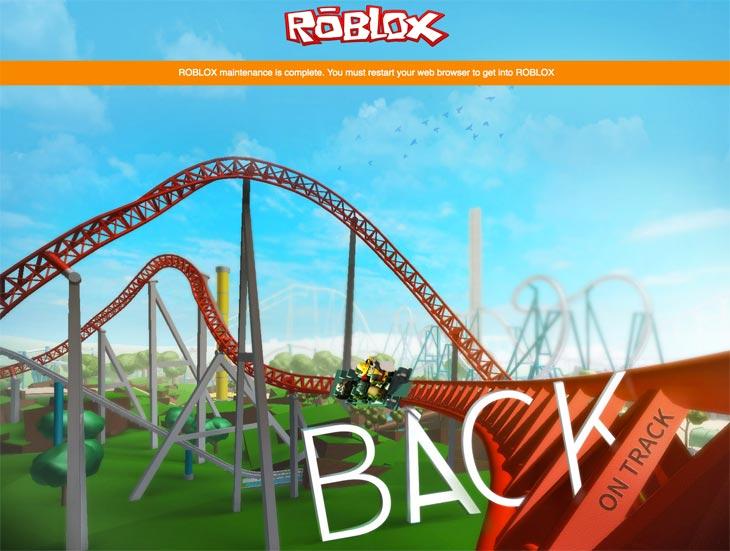 ROBLOX-maintenance-complete
