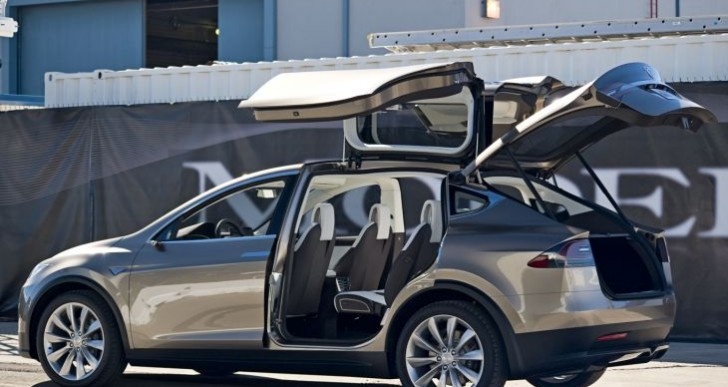 Radical Tesla Model X SUV and 3 EV battery production
