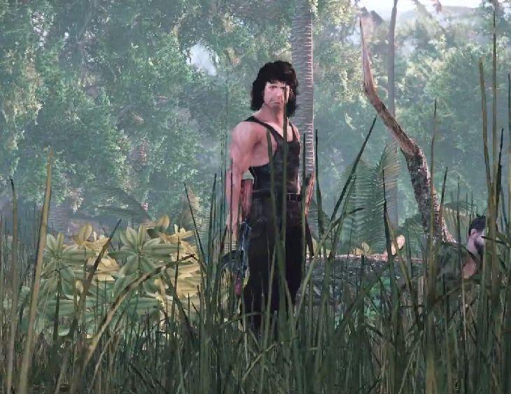 Rambo-Game