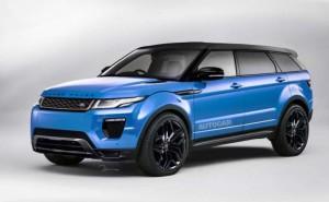 Range Rover Evoque Plus starting price