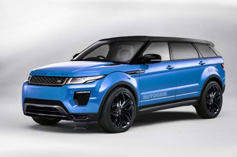 Range Rover Evoque Plus starting price