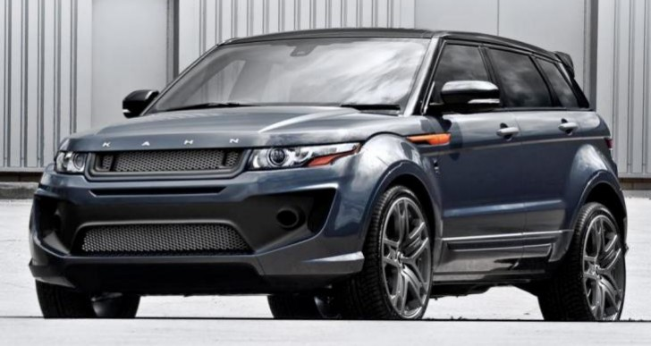 Range Rover Evoque RS performance increase, and Sport