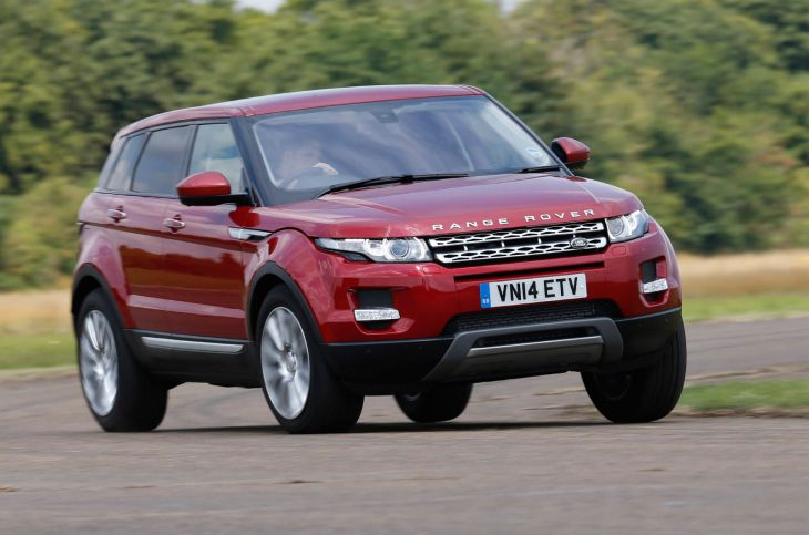 Range Rover Evoque vs. Nissan Qashqai