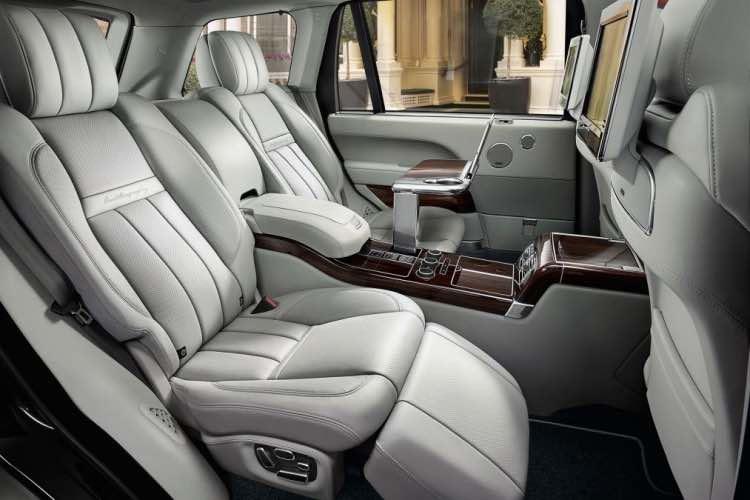 Range Rover reveals SVAutobiography interior