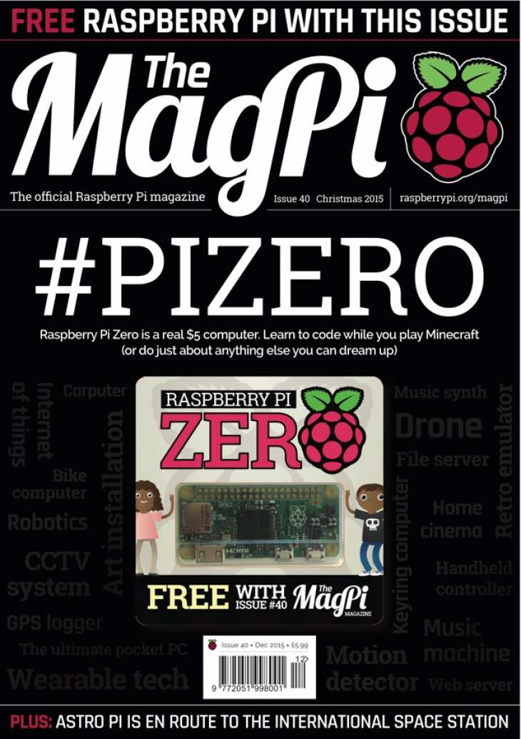 Raspberry Pi Zero is free