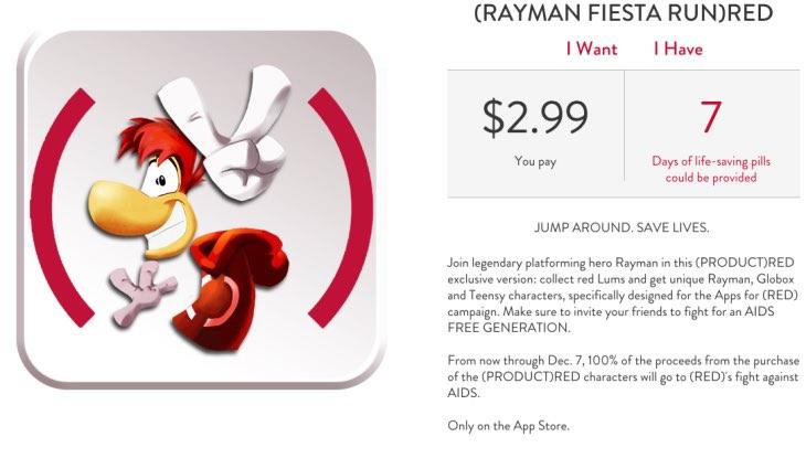 Rayman Fiesta Run RED