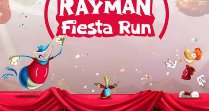 Rayman Fiesta Run iOS update with new RED characters