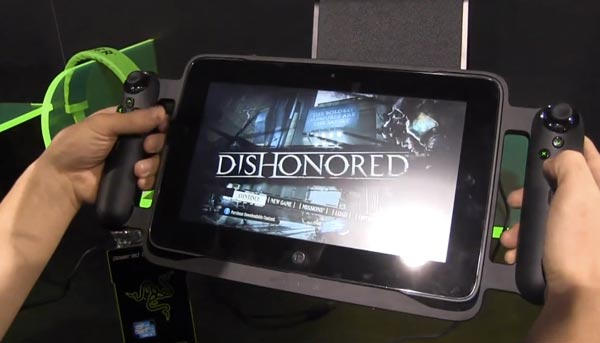 Razor Edge Pro tablet, Dishonored gameplay