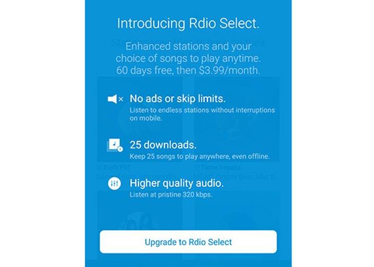Rdio-Select