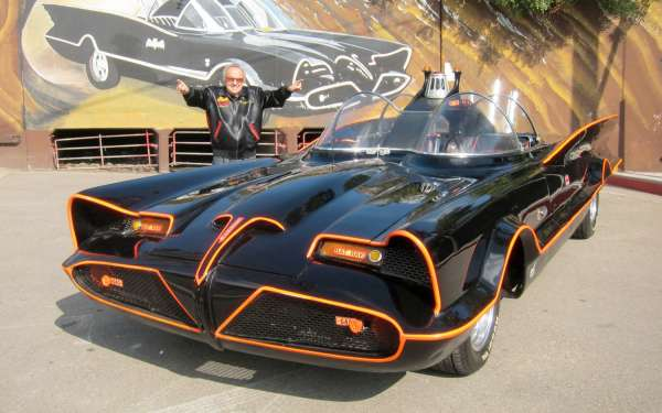 Real Batmobile sold at auction