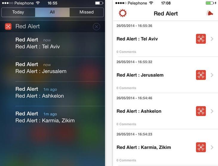 Red-Alert-Israel-app