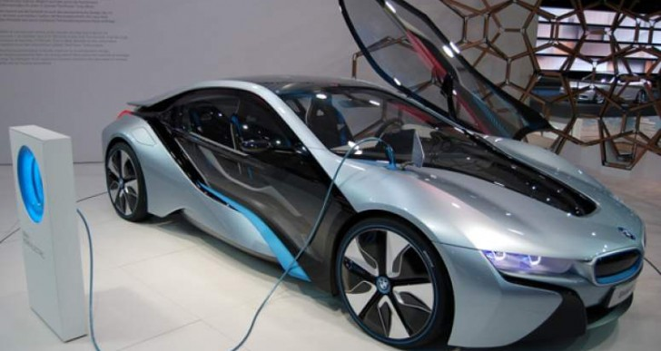 Reiterating BMW i8 charging options