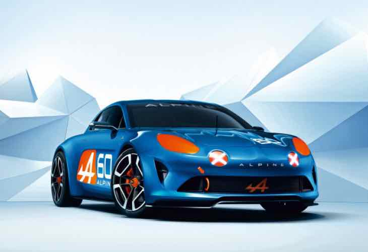 Renault Alpine Celebration technical details absent