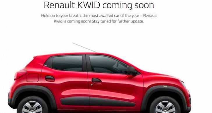 Renault Kwid launch date in India announced soon