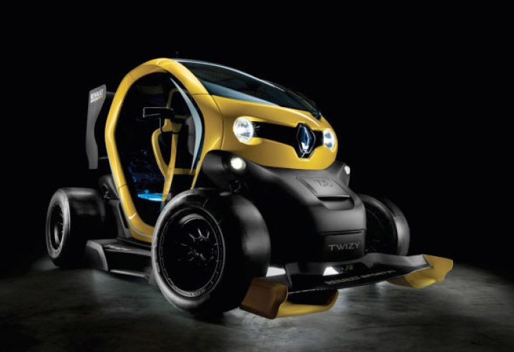 Renault Twizy specs boast with Renault Sport F1