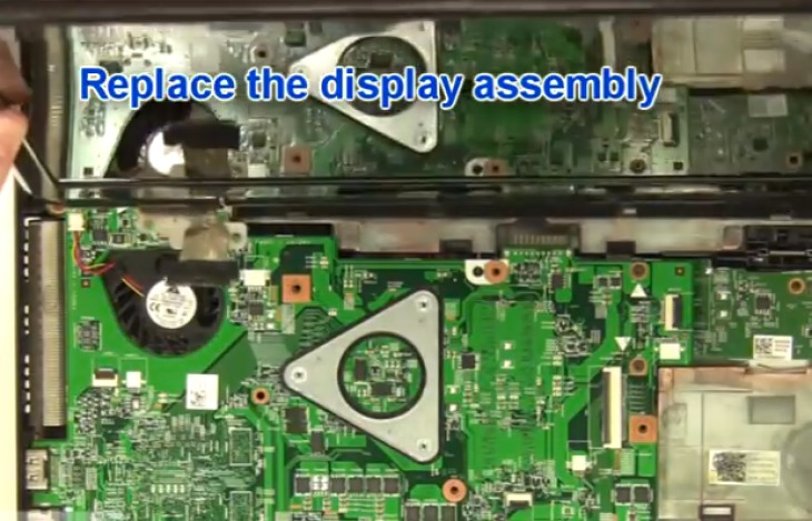 Replacing the Dell Inspiron 15R motherboard