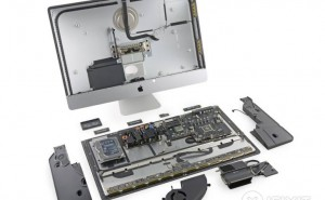 iMac with Retina 5K display is hard to mend