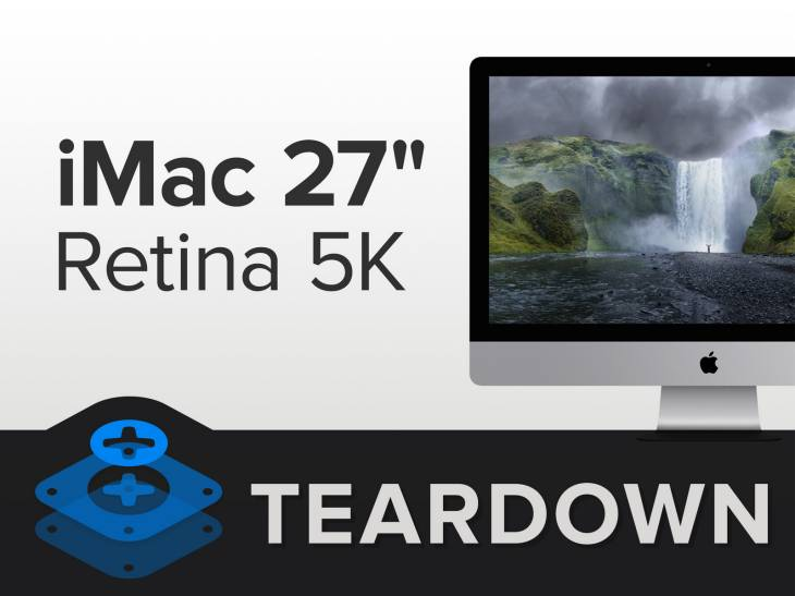 Retina iMac teardown