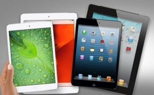 Retina iPad mini vs. iPad Air speed comparison