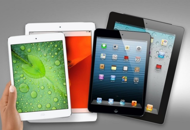 Retina iPad mini vs. iPad Air speed comparison