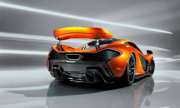 Revealing McLaren P1 specs at Geneva