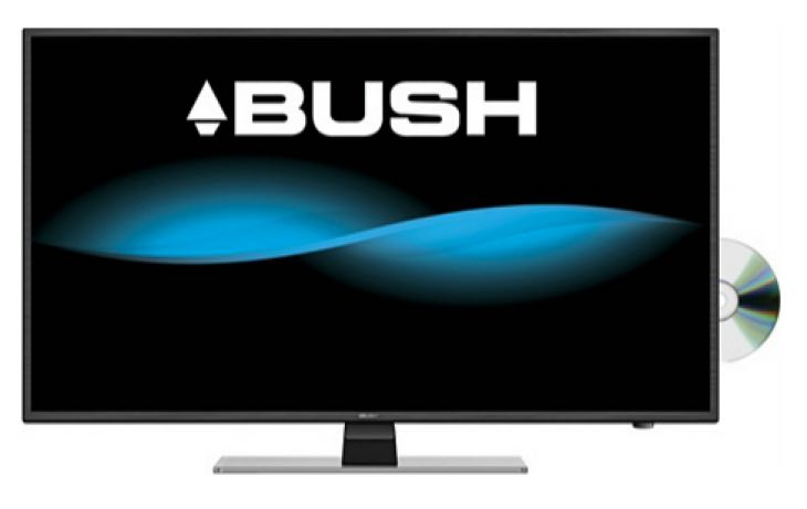 Review of Bush 40 Inch Full HD LED TV:DVD Comb specs