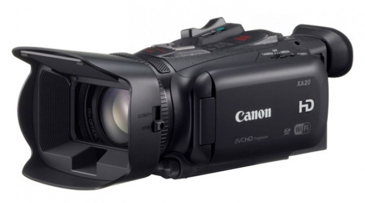 Review of Canon XA20 and XA25 HD specs