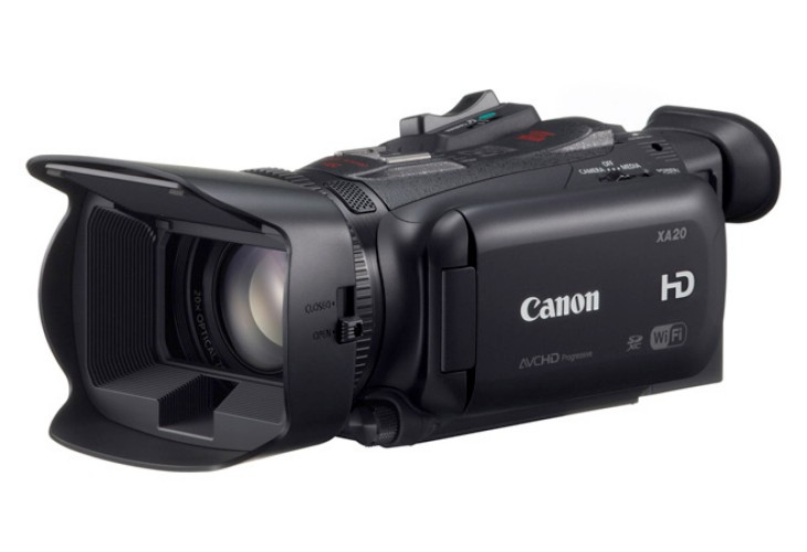 Review of Canon XA20 and XA25 HD specs 1