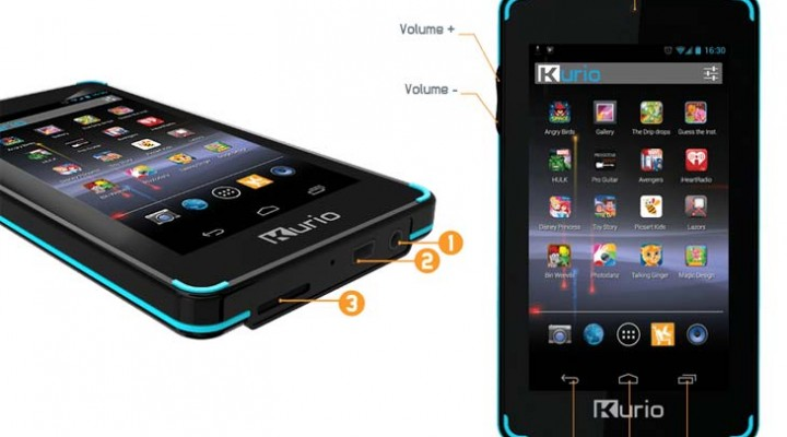 Review of Kurio Touch4S handheld Android multimedia player