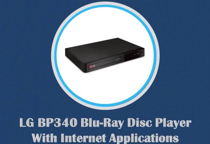 Review of LG BP340 Smart Blu-ray player specs