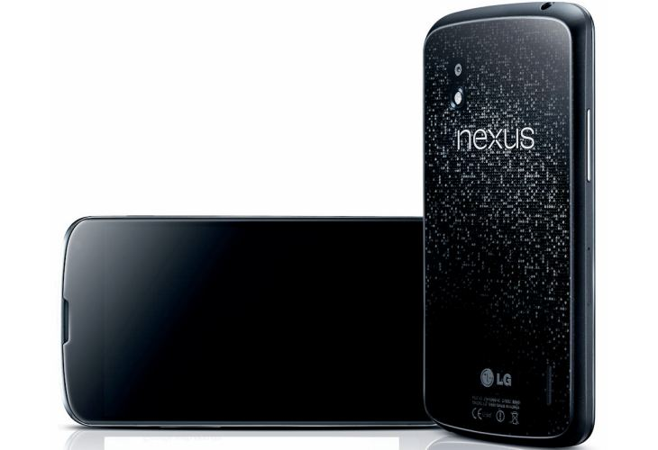 Revised Nexus 4 storage, rather than Nexus 5