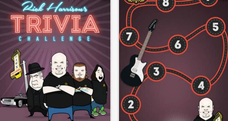 Rick Harrison's Trivia for Windows Phone missing