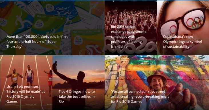 Rio 2016 news