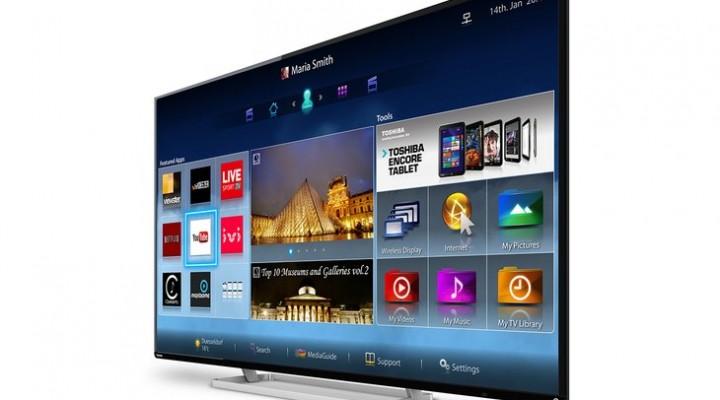 Roadmap for Toshiba LED HDTV 2014 range