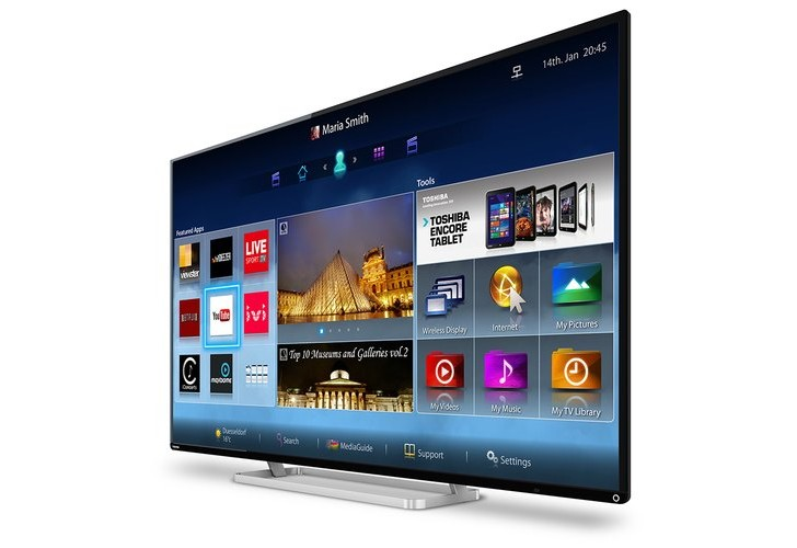 Roadmap for Toshiba LED HDTV 2014 range