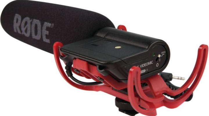 Rode Videomic Rycote will improve DSLR audio