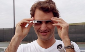 Roger Federer vs. Stefan Edberg in Google Glass challenge