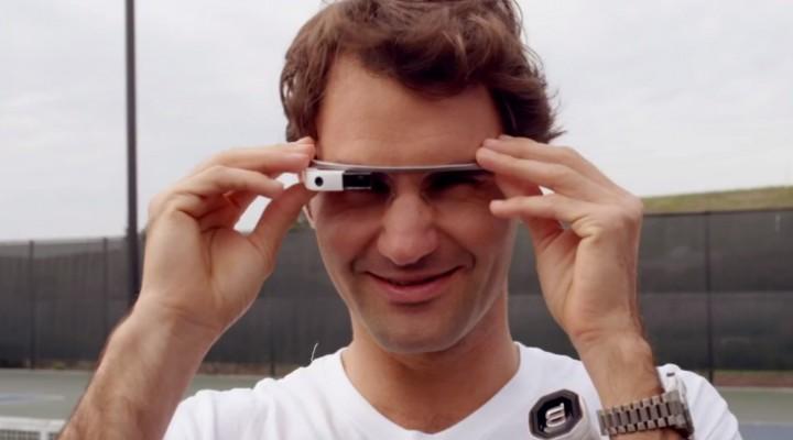 Roger Federer vs. Stefan Edberg in Google Glass challenge