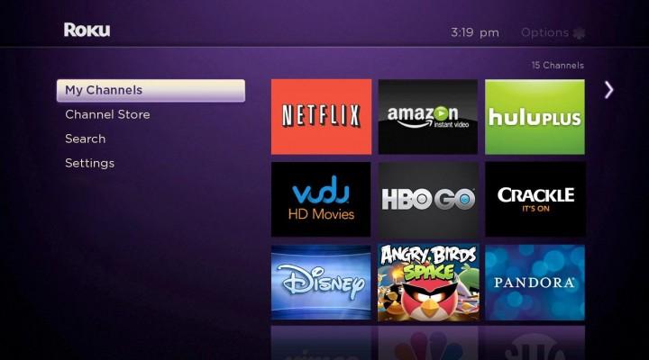 Roku 3 vs. Apple TV 3G