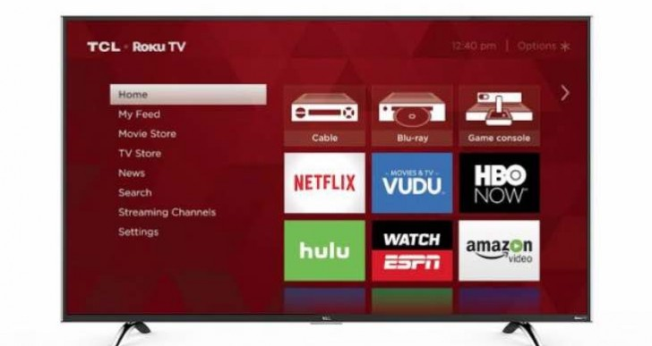 TCL Roku US5800 and UP130 4K TVs announced