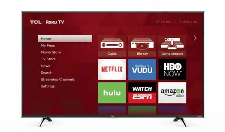 Roku US5800 and UP1304K TCL TV specs