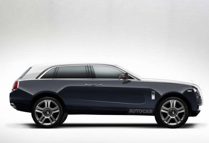 Roll Royce SUV details trickle out