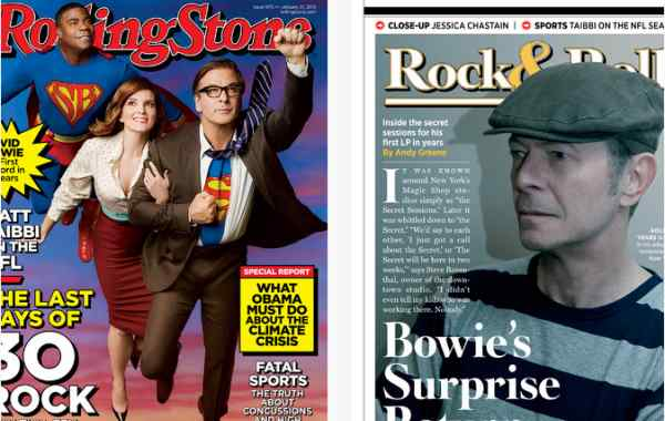 Rolling Stone magazine delivers an iPad app