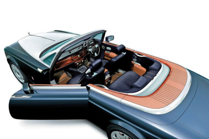 What the 2015 Rolls-Royce Wraith convertible could look like